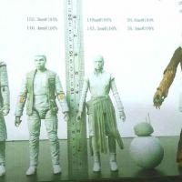 """De """"Star Wars"""": Nova imagem de bonecos revela visual de personagens"""