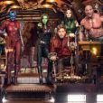 "Em 2023, iremos nos despedir de Drax (David Bautista), Groot (Vin Diesel), Rocket (Bradley Cooper), Mantis (Pom Klementieff), Gamora (Zoe Saldana) e Peter Quill (Chris Pratt) em ""Guardiões da Galáxia 3"""