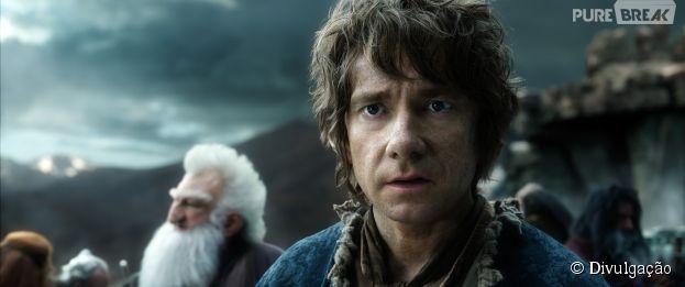 """""""O Hobbit: A Batalha dos Cinco Exércitos"""" é o último filme da trilogia de Peter Jackson"""