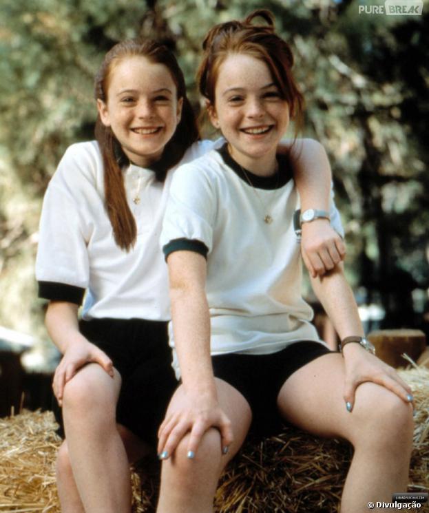 """Lindsay Lohan deu vida às gêmeas Annie e Hallie em """"Operação Cupido""""!"""