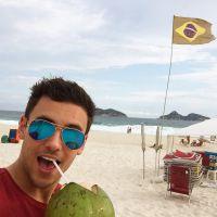 Tom Daley está no Rio de Janeiro e posta fotos divertidas no Instagram