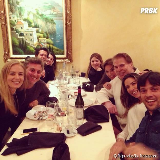 Patrícia Abravanel também postou foto do encontro