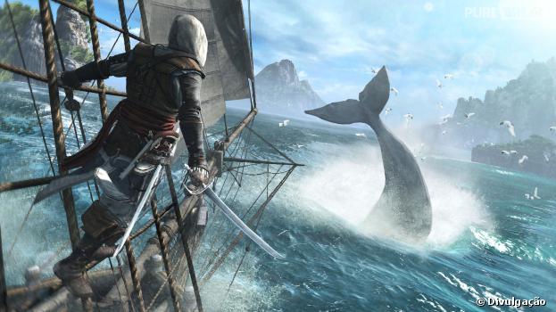 """O jogo """"Assassin's Creed 4"""" pode demorar quase 80 horas para ser completado"""