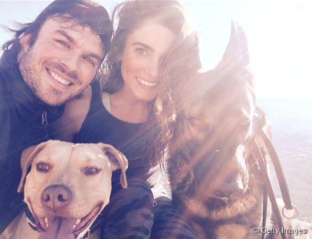 Ian Somerhalder e Nikki Reed vão casar? Esta foto do ator no Instagram levantou várias suspeitas!