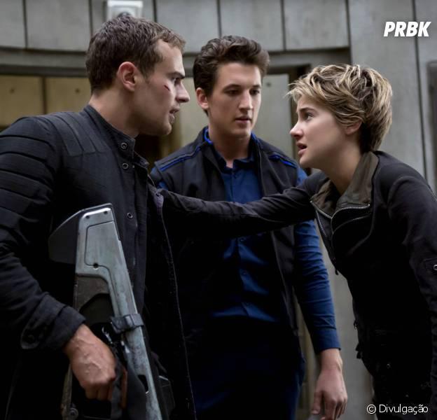 "Shailene Woodley, Ansel Elgort e Theo James falam sobre ""Insurgente"""