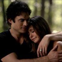 "Em ""The Vampire Diaries"": Na 6ª temporada, Damon (Ian Somerhalder) e Elena (Nina Dobrev) juntos"