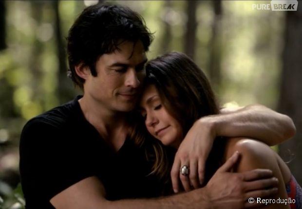 """Damon (Ian Somerhalder) e Elena (Nina Dobrev) vão ficar juntos finalmente em """"The Vampire Diaries""""?"""