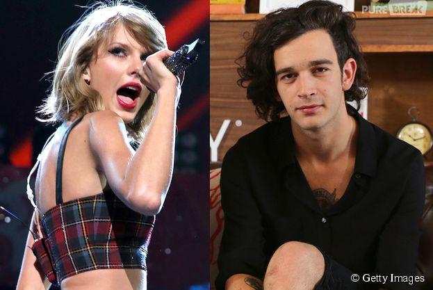 Taylor Swift Matt Healy together? Juntos? Não!