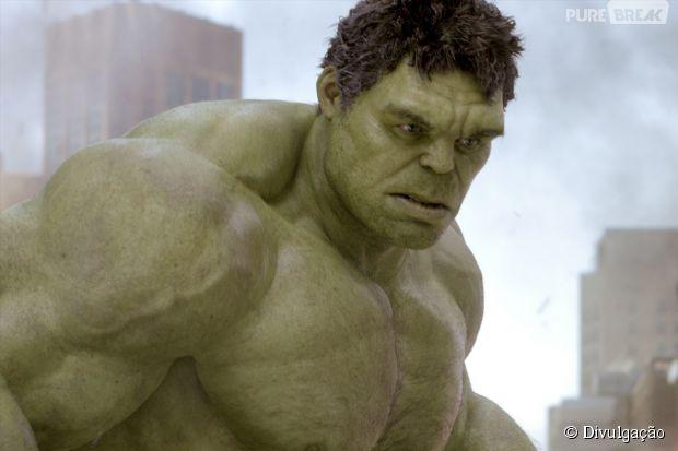 """Hulk, de """"Os Vingadores 2"""", pode ser cinza"""