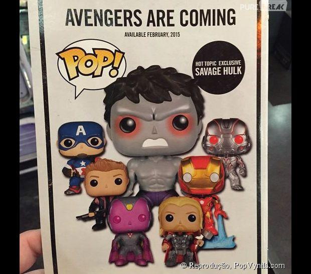 """Hulk (Mark Ruffalo) pode ser cinza em """"Os Vingadores 2"""""""