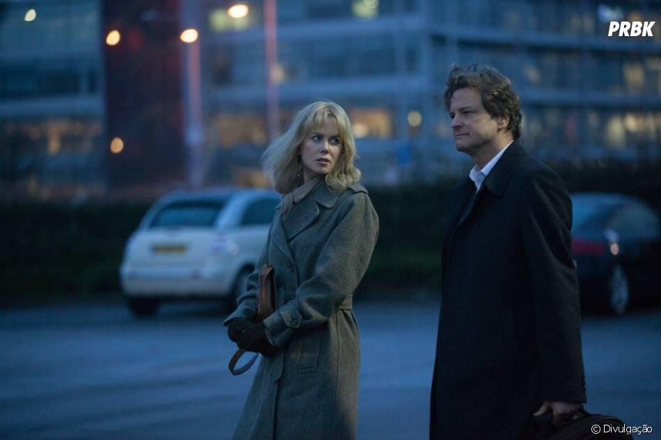 """""""Antes de Dormir"""" é estrelado por Nicole Kidman e Colin Firth"""