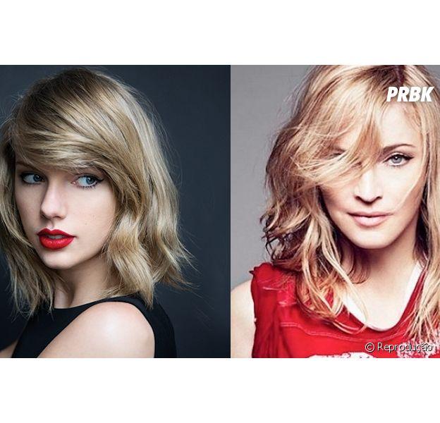 Madonna diz que Taylor Swift é a nova princesinha do pop! OMG