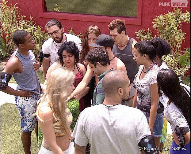 "A prova do Anjo do ""BBB15"" está entre Angélica e Cézar!"