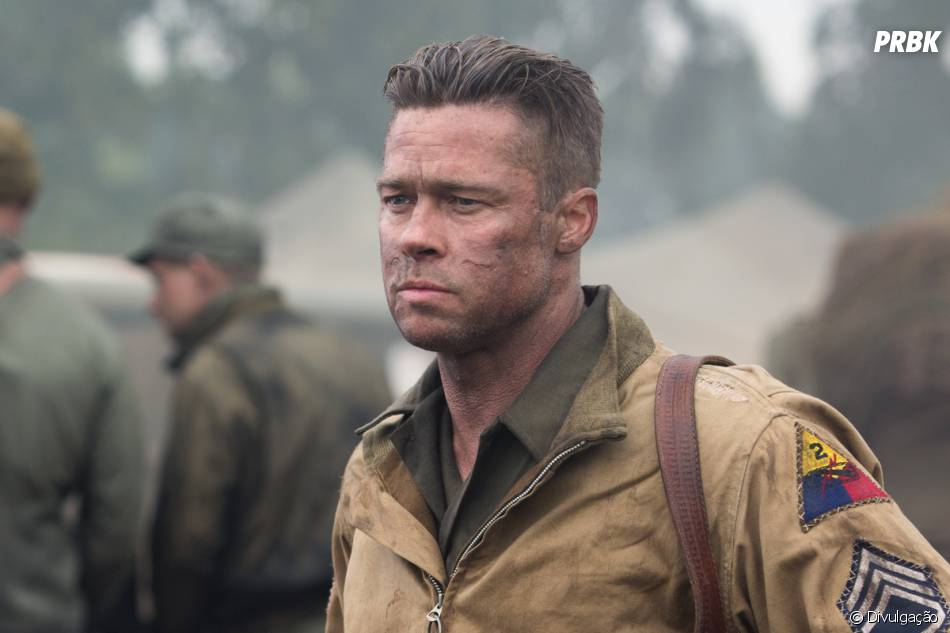 Brad Pitt vive o líder de um grupo de soldados que vai lutar contra os nazistas na Segunda Guerra Mundial