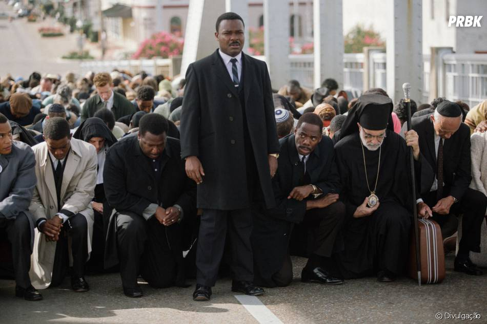 "A cinebiografia ""Selma"" retrata a trajetória do ativista Martin Luther King Jr."