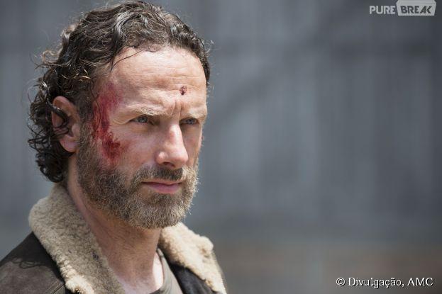 """Em """"The Walking Dead"""": Na 5ª temporada, Andrew Lincoln diz que retorno será """"brutal""""!"""