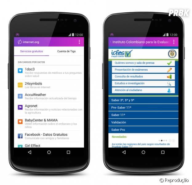 Facebook lança aplicativo Internet.org na Índia