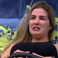 """No """"BBB15"""": Aline continua irritada por causa de veto na prova do líder e fala mal de Amanda"""