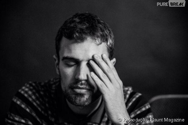 "Theo James, de ""Divergente"""