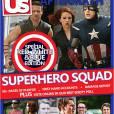 """""""Esquadrão de super-heróis: 50+ páginas de fotos, relatos em primeira mão, relatório dos danos; Resultados: A batalha de Nova York"""", diria a manchete da US sobre """"Os Vingadores"""""""