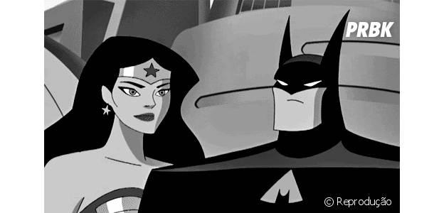 Mulher Maravilha e Batman, dupla inseparável nos quadrinhos e animações