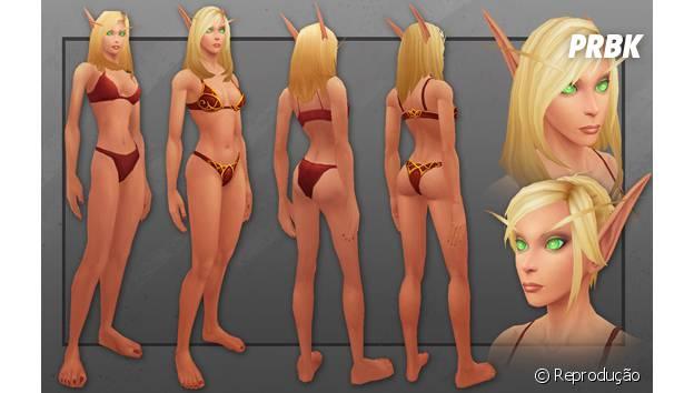 """Modelo dos Elfos Sangrentos foi o último a ser atualizado em """"World Of Warcraft"""""""