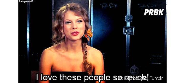 Taylor Swift ama o Brasil