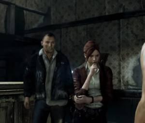 """O quarteto do Episódio 2 de """"Resident Evil Revelations 2"""": Claire, Moira, Gabriel e Pedro"""