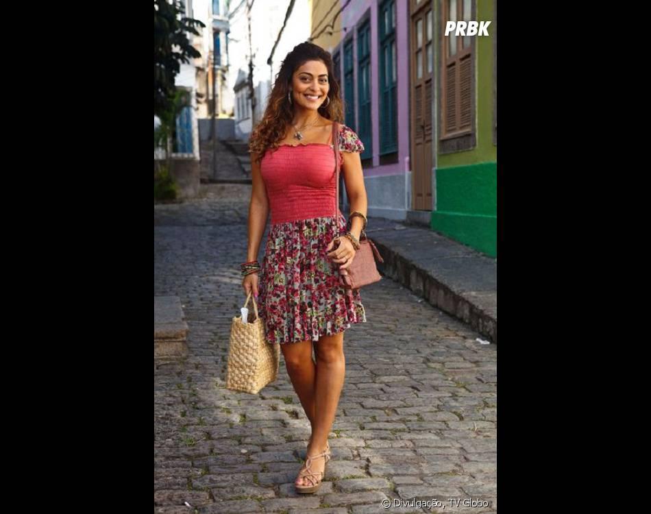 """Na pele de Janaína, no seriado """"As Brasileiras"""", Juliana Paes encarnou uma personagem corajosa e de atitude no episódio batizado de """"A Justiceira de Olinda"""""""