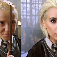 """Após Kim Kardashian ficar loira, Tom Felton, de """"Harry Potter"""", fala sobre as comparações"""