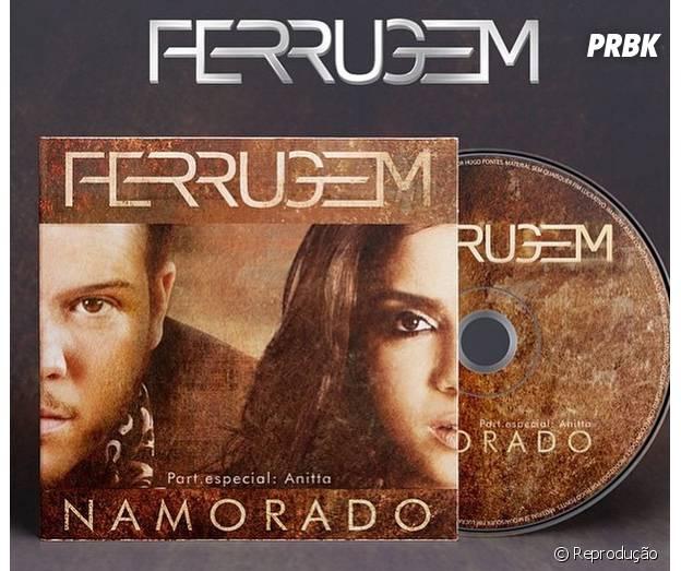 """Ferrugem está bombando com o single """"Namorado"""", que tem participação de Anitta"""