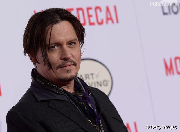 """Johnny Depp, em """"Piratas do Caribe 5"""""""