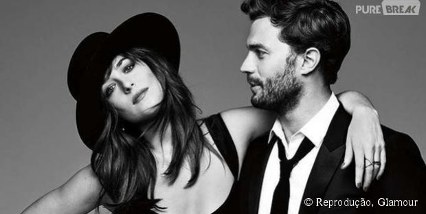 "Jamie Dornan e Dakota Johnson, de ""Cinquenta Tons de Cinza"""