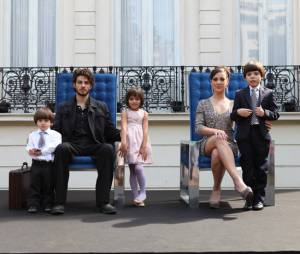 """Foto da família Medeiros em """"Império"""", da Globo, marcou a transição para a segunda fase da novela"""