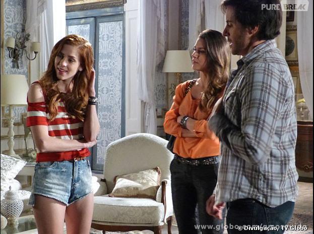 """Em """"Amor à Vida"""", Leila (Fernanda Machado) será expulsa de casa por Thales (Ricardo Tozzi) a mando de Natasha (Sophia Abrahão)!"""
