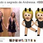 """Memes do """"BBB15"""": Andressa e sua irmã gêmea viram piada entre os internautas nas redes sociais"""