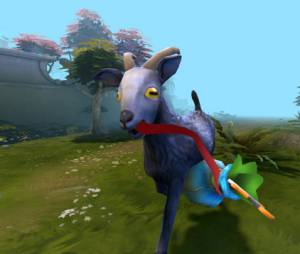 """""""Dota 2"""" pode ser invadido por cabras voadoras muito em breve"""