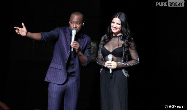 Thiaguinho convidou Maite Perroni para seu show em São Paulo!