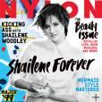 """Shailene Woodley, estrela de """"Divergente"""", é a capa da revista americana Nylon de abril"""