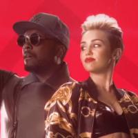 "Miley Cyrus aparece em clipe de ""Feelin' Myself"" com will.i.am"