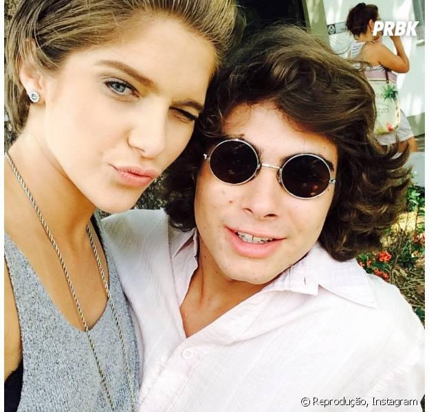 "Rafael Vitti e Isabella Santoni recomendam filme ""Meus Dois Amores"""