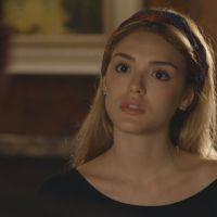 """Novela """"Sete Vidas"""": Júlia (Isabelle Drummond) discute com Edgard por causa de Bernardo"""