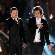 Harry Styles e Liam Payne, do One Direction, comentam saída de Zayn Malik da banda