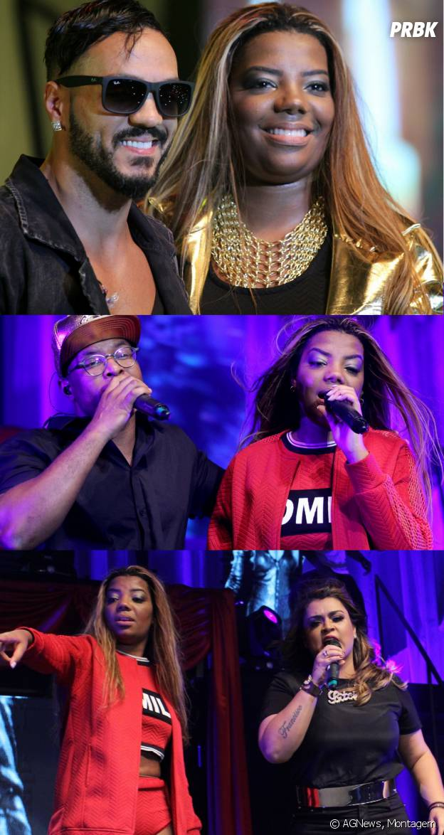 """Ludmilla estreou a turnê """"Poder da Preta"""" com apresentações de Belo, Buchecha e Preta Gil"""