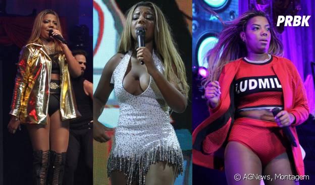 """Ludmilla usou três looks diferentes na estreia da turnê """"Poder da Preta"""""""