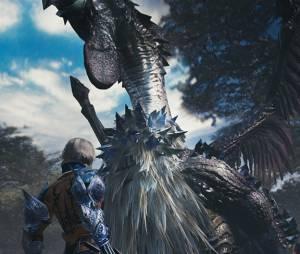 """Um dos monstros que o personagem de """"Mevius Final Fantasy"""" terá que enfrentar"""
