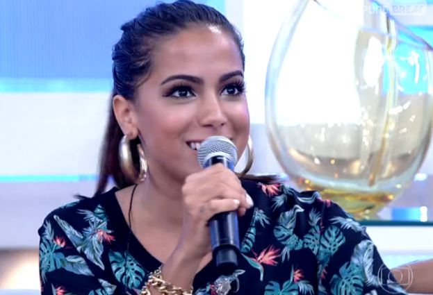 """Anitta participa do """"Encontro com Fátima Bernardes"""""""