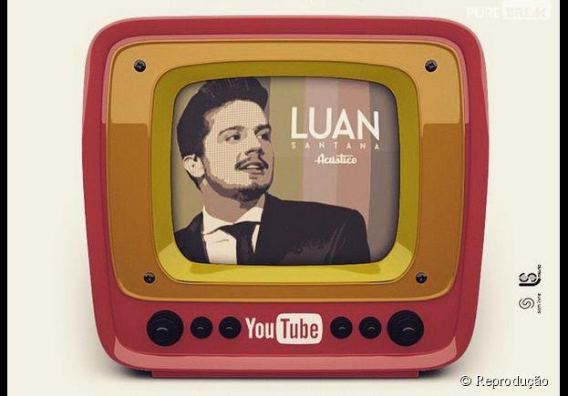 Luan Santana promove hangout no Youtube para seus fãs