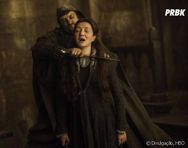 """Em quem não se lembra do Casamento Vermelho que mudou pra sempre a história da família Stark em """"Game of Thrones""""?"""