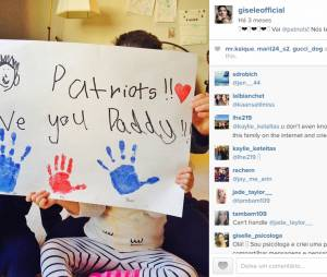 Até a família de Gisele Bündchen cria mensagens legais no Instagram